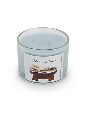 Clean Linen Scented Candle - 12 oz.