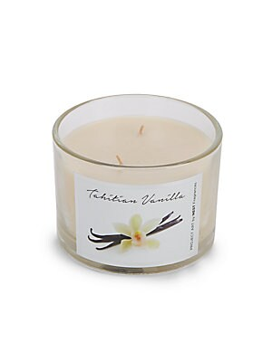 Tahitian Vanilla Scented Candle - 12 oz.