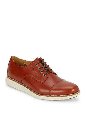 Cap-Toe Leather Shoes