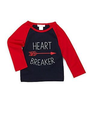 Little Boy's & Boy's Heart Breaker Cotton Graphic Tee