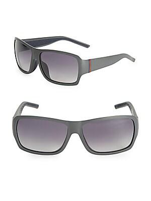 gucci female rectangular gradient sunglasses