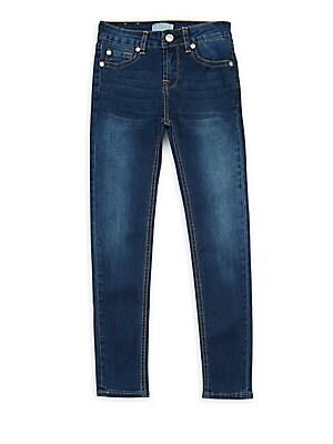 Girl's The Skinny Dark Wash Skinny Jeans