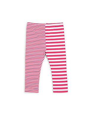 Baby Girl's Striped Leggings