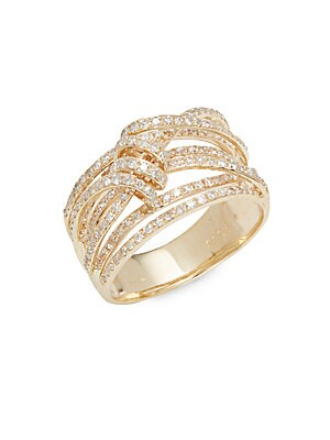 Click here for Diamond & 14K Yellow Gold Ring prices