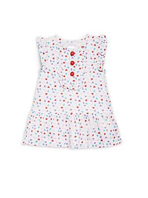 Baby Girl's Winona Heart Printed Dress