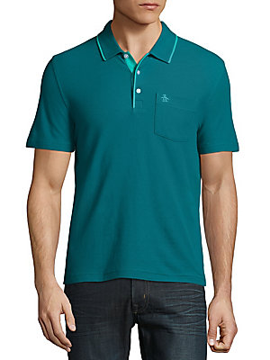 Mearl Cotton Polo