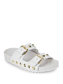 아쉬 유나이티드 스터드 슬라이드 샌들 조윤희 착용 샌들 ASH United Slip-On Sandals