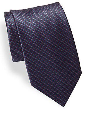 Geometric-Print Tie