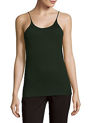 Solid Cashmere Camisole Top