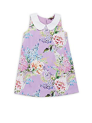 Little Girl's & Girl's Esther Floral Print Dress