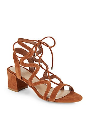 Darci Lace-Up Cage Sandals