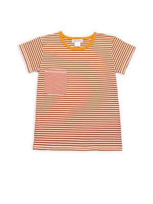 Little Boy's & Boy's Striped Crewneck T-Shirt