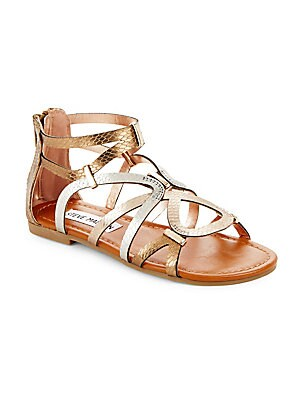 Girl's Strappy Open-Toe Sandals