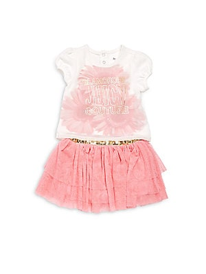 Baby's Top & Skirt Set