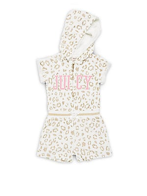 Little Girl's Elasticized Waist Romper