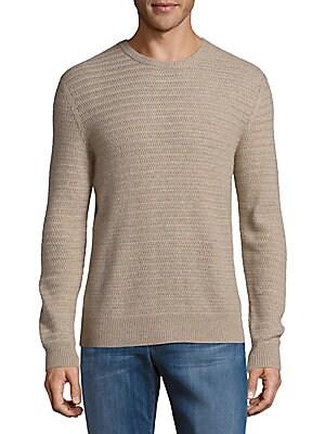 Crewneck Knit Cashmere Sweater