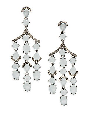 Click here for Diamond & Aquamarine Drop Earrings prices