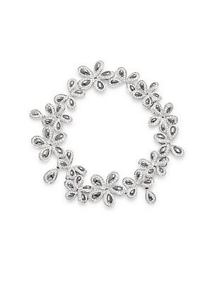 Click here for Diamond & 18K White Gold Bracelet prices