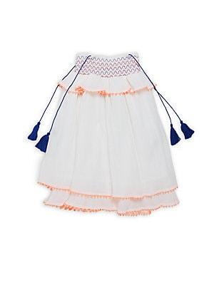 Little Girl's & Girl's Cotton Layered Dress