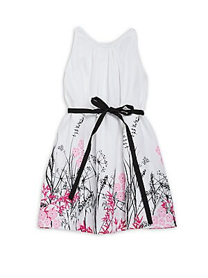 Little Girl's & Girl's Armenia A-Line Dress