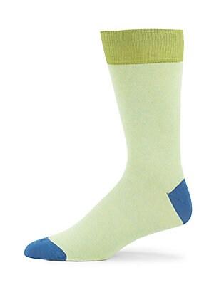 Jaspe Colorblock Knitted Socks