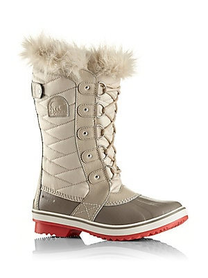 Tofino II Coated Canvas & Faux Fur Winter Boots