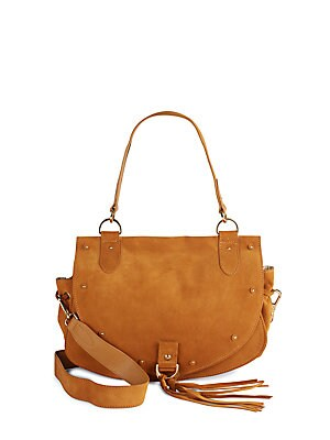 Collins Suede Shoulder Bag
