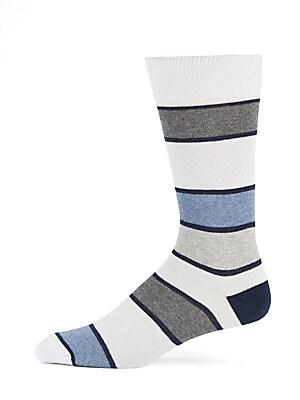 Striped Tri-Blend Socks