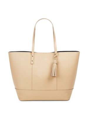 Bayleen Leather Tote Cole Haan