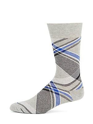 Tri-Blend Criss-Cross Socks