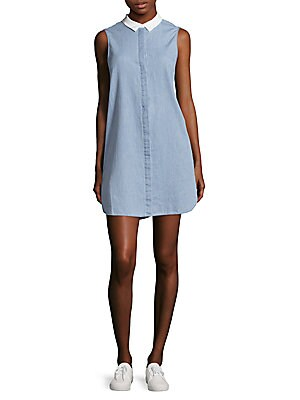 Lanie Cotton Shirtdress