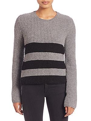 Carson Wool & Alpaca Striped Sweater