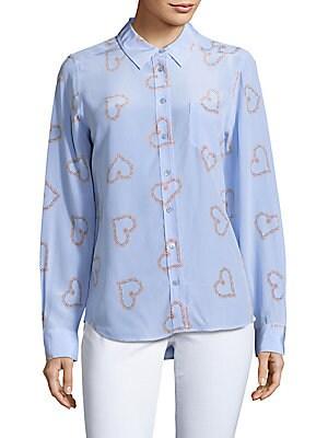 Brett Printed Silk Shirt