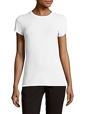 Solid Roundneck Tee