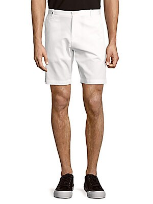 Bedford Solid Slim-Fit Cotton Shorts