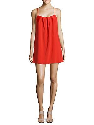 Sisi Solid Squareneck Dress