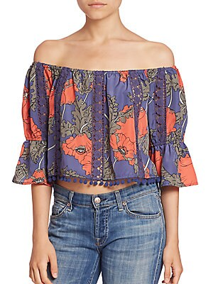 Alexa Off Shoulder Floral Top