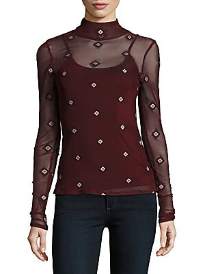 Celtic Illusion Long-Sleeves Blouse