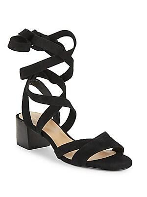 Marissa Lace-Up Leather Sandals