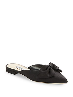 Bree Linen Point Toe Flats