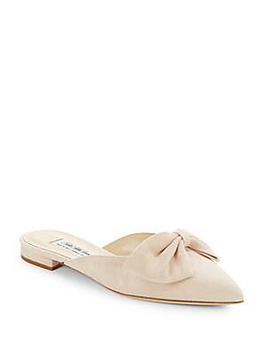 Bree Linen Point Toe Flats