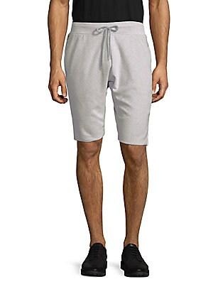 Textured Drawstring Shorts