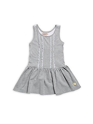 Little Girl's Lace Yoke Dress