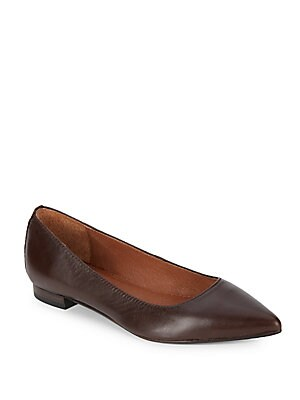 Sienna Leather Ballet Flats