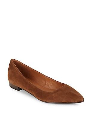 Sienna Suede Ballet Flats