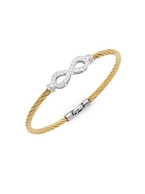 Click here for Classique Diamond & 18K Yellow Gold Bracelet prices