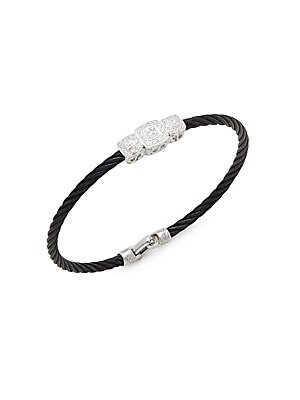 Click here for Noir Diamond & 18K White Gold Bracelet prices