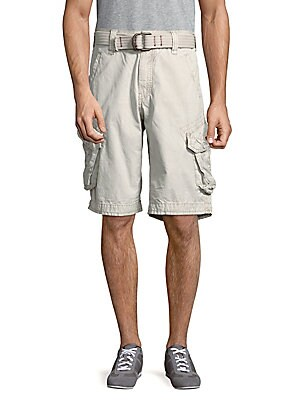 Cotton Six-Pocket Shorts