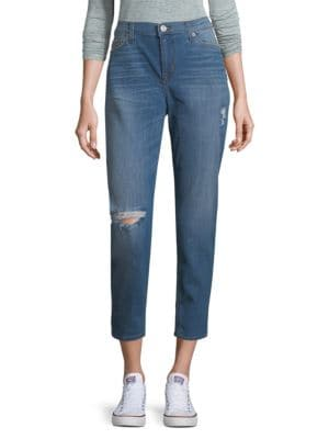 Super-Skinny-Fit Ankle-Length Jeans