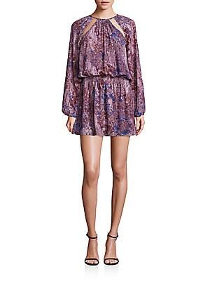 Printed Kayla Snake Print Dress